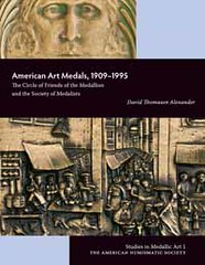 NEW BOOK: AMERICAN ART MEDALS, 1909–1995