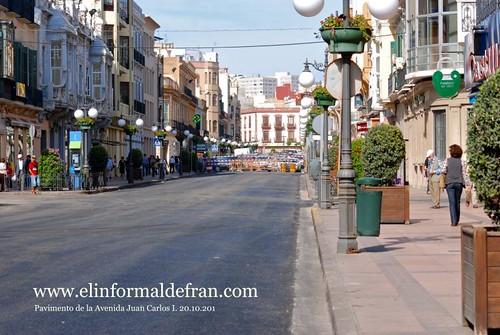 Avenida Juan Carlos I Pavimento 20.10.2010
