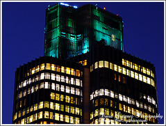 London Night: Tower 42 Architecture Detail... (david gutierrez [ www.davidgutierrez.co.uk ]) Tags: city blue windows sky urban detail building london tower art architecture night skyscraper buildings dark spectacular geotagged photography photo arquitectura cityscape darkness image dusk centre picture cities cityscapes engineering center structure architectural nighttime photograph hour londres architektur nights sensational metropolis bluehour londra 42 impressive tower42 nightfall cityoflondon municipality edifice cites
