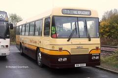York Pullman 277, RXI3337. (EYBusman) Tags: york travel bus station yorkshire tiger north n replacement rail railway belfast independent pullman type scarborough alexander logistics kj leyland seamer rufforth ulsterbus rxi3337 eybusman