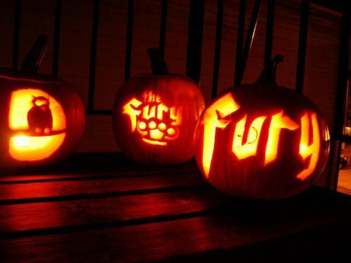 fury pumpkin carving