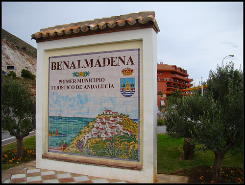 Letrero Benalmádena