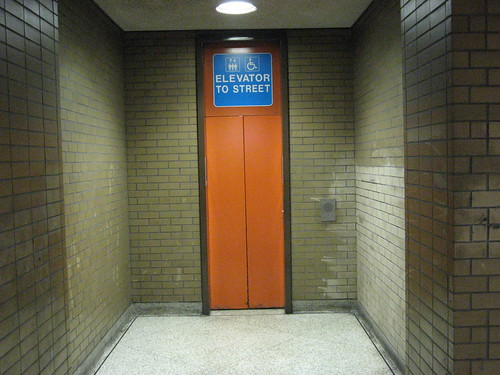 Church Station Street Elevator