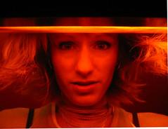 Day 173 - Six Feet Under (kisluvkis) Tags: light orange selfportrait me night self dark hair underwater ambientlight surreal creepy nighttime milwaukee selfie zenden 365days