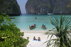 Maya Bay on Phi Phi Leh Photo credit: Argenber