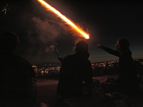 Roman Candle or Magic Wand?