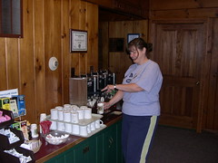 Coffee at the Lodge