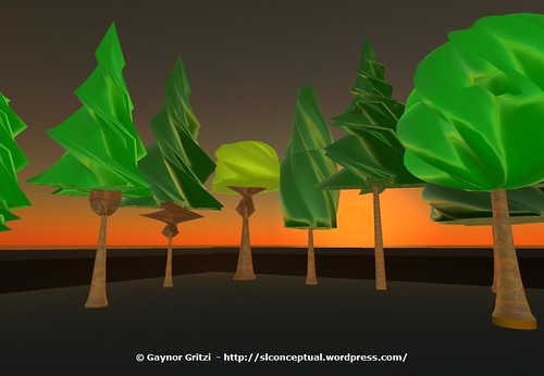 Sculpted Trees 002