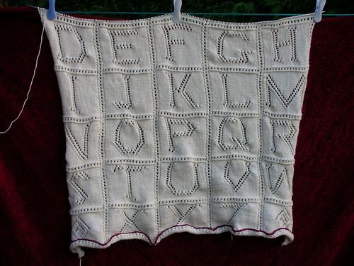 Alphabet Blanket 2