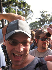 Scott having a good time at Erasure (shindoverse) Tags: gay lesbian concert sandiego glbt gaypride erasure sandiegopride glbtpride