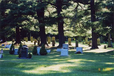 Shade/Sun Cemetery