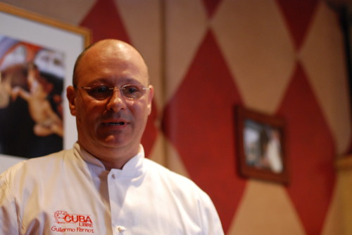 Cuba Libre's Concept Chef Guillermo Pernot