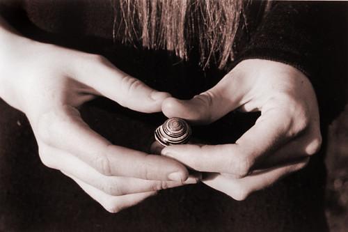 Alahna's hands