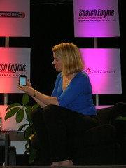 Marissa Mayer shows Google on the iPhone