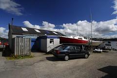 Ardrishaig boatyard