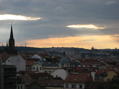 Vue of Prague from Zizkov