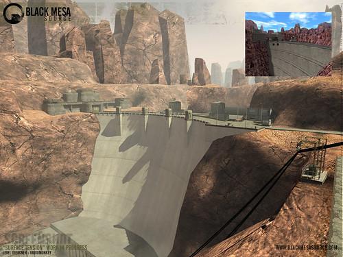 Black Mesa juego represa