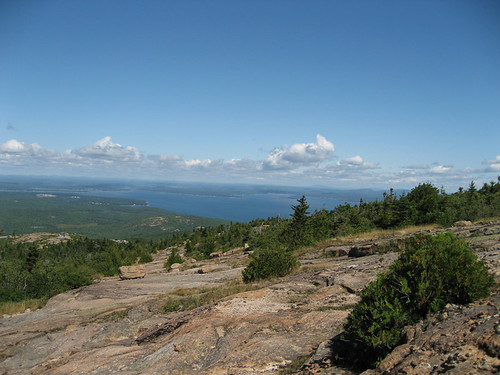from the top of Cadillac Mountain