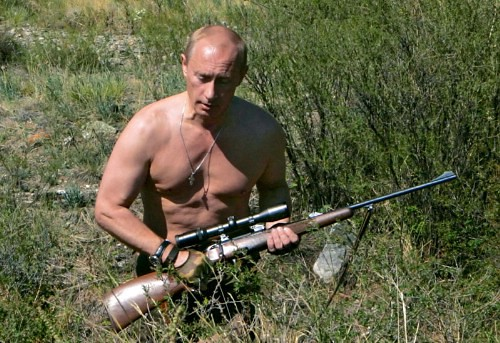 Putin_Cazando