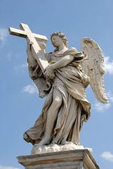 聖天使橋上的天使