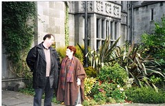 Denis And Marti at Ashford castle
