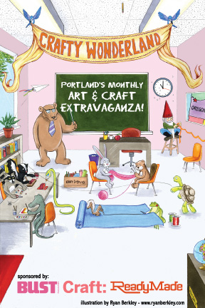 crafty wonderland flyer