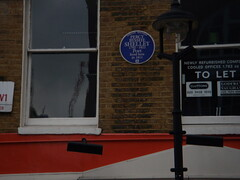 Photo of Percy Bysshe Shelley blue plaque