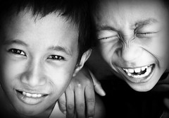 brothers in arms (life begins with 4t) Tags: travel girls art boys kids sisters canon children brothers country philippines smiles teens 4t 6millionpeople theunforgettablepictures memorycornerportraits