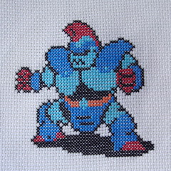 Knight (benjibot) Tags: crossstitch crafts videogames crop nes dragonwarrior reshoot