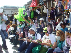 (2) (sabzphoto) Tags: people london iran crowd protest sultan neda agha soltan  iranelection