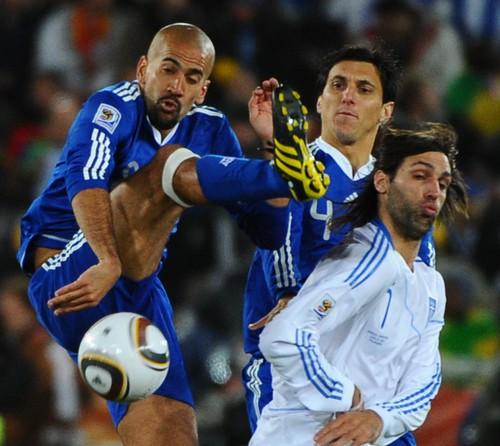 Argentina versus Grecia Mundial