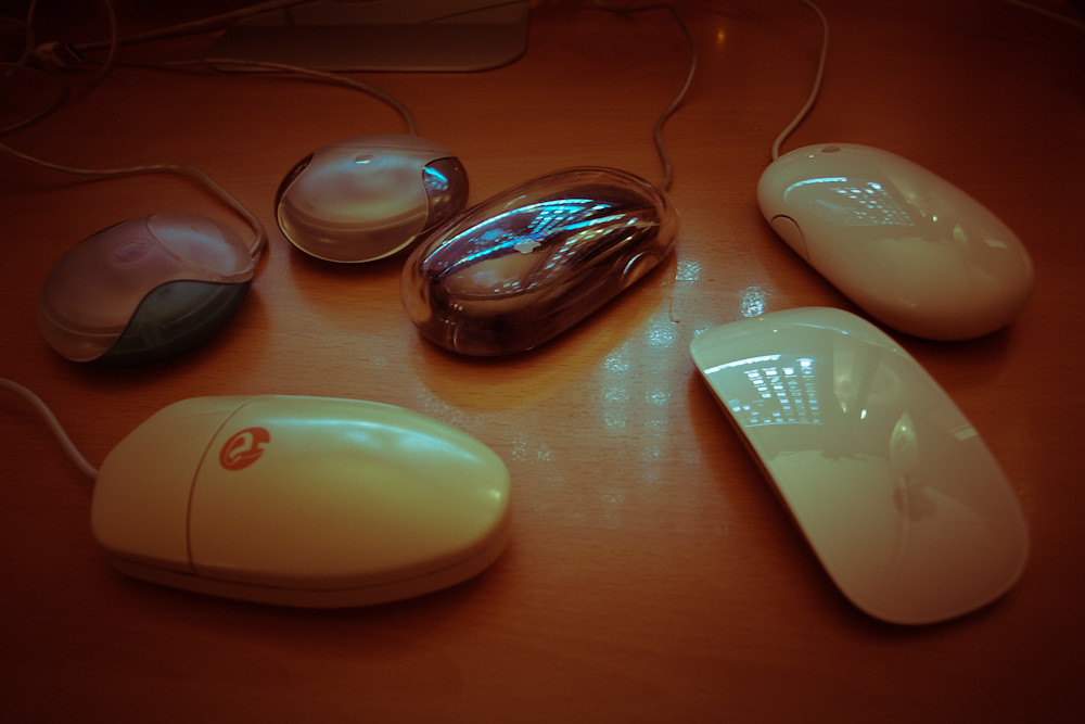 Macintosh Mouse Collection