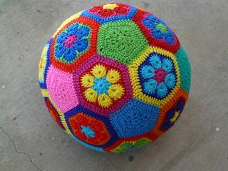 Crocheted Soccer Ball