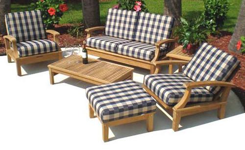 6-Piece Miami Teak Furniture Set