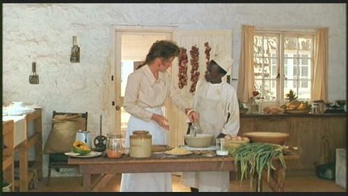 """кухня - интерьер дома из фильма """"Из Африки"""""""