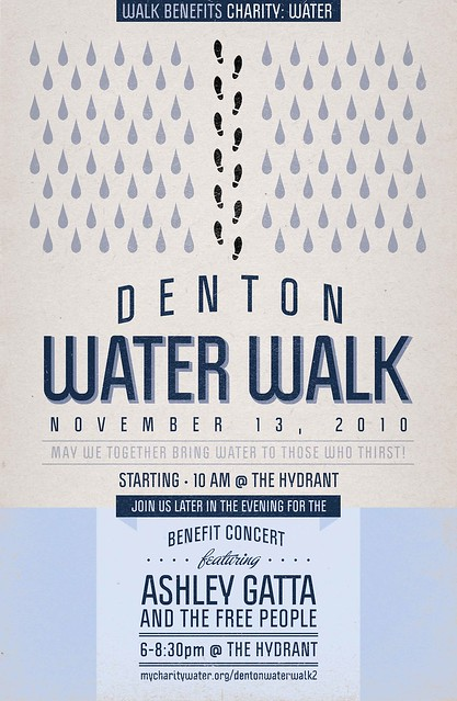 water walk poster