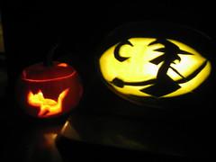 2010 Halloween Pumpkin and Melon!