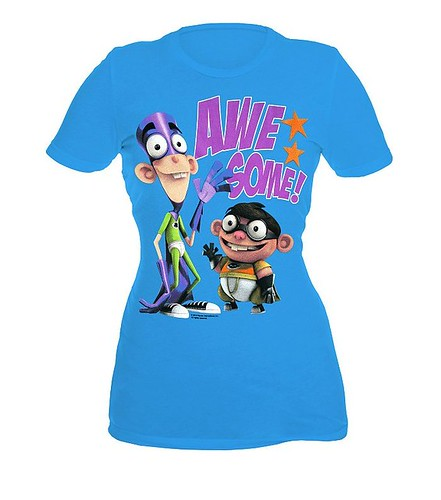 Fanboy And Chum-Chum Awesome! Girls T-Shirt