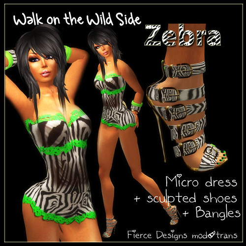 walk on the wild side zebra