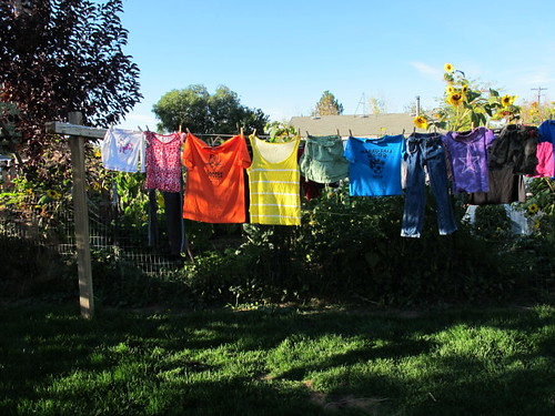 My rainbow clothesline #4