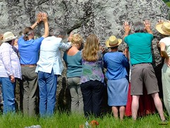Human Touch (true2source) Tags: love peace earth harmony sound balance healing motherearth avebury soundhealing hopeforthefuture overtonesinging planetaryhealing