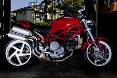 My Ducati Monster S2R (100% Beef) Tags: monster ducati 580ex ducatimonster s2r ducatimonsters2r strobist 580exii