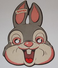 Burry Cookies Bunny Mask