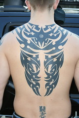 Back Tribal (Superchango Tattoo Studio) Tags: black tattoo back juan tribal superchango