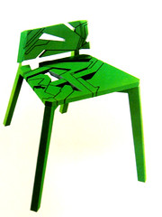 Laser-Cut Chair