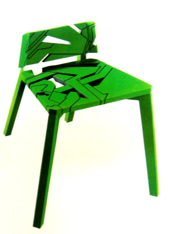Laser-Cut Chair