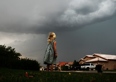 Sara Vs. The Storm (Gods Emerald - With Love Photography) Tags: storm cute kids clouds interestingness amazing cool sara awesome explore monsoon 30faves mywinners project365kids diamondclassphotographer flickerdiamond frhwofavs