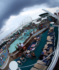 Pool Deck (sandrino) Tags: sigma fisheye 8mm pooldeck enchantmentoftheseas sigma8mmfisheye