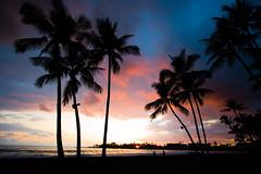 Kona Sunset - by Kanaka Menehune
