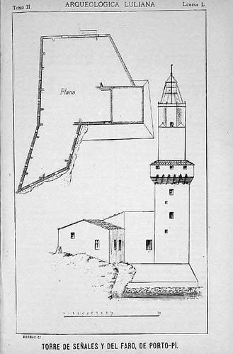 Torre de señales y faro de Portopí